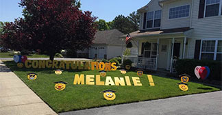 Party werkshop products say it in their yard yard cards lawn greeting or happy birthday signs no matter what you like to call them party werkshop has a m4hsunfo